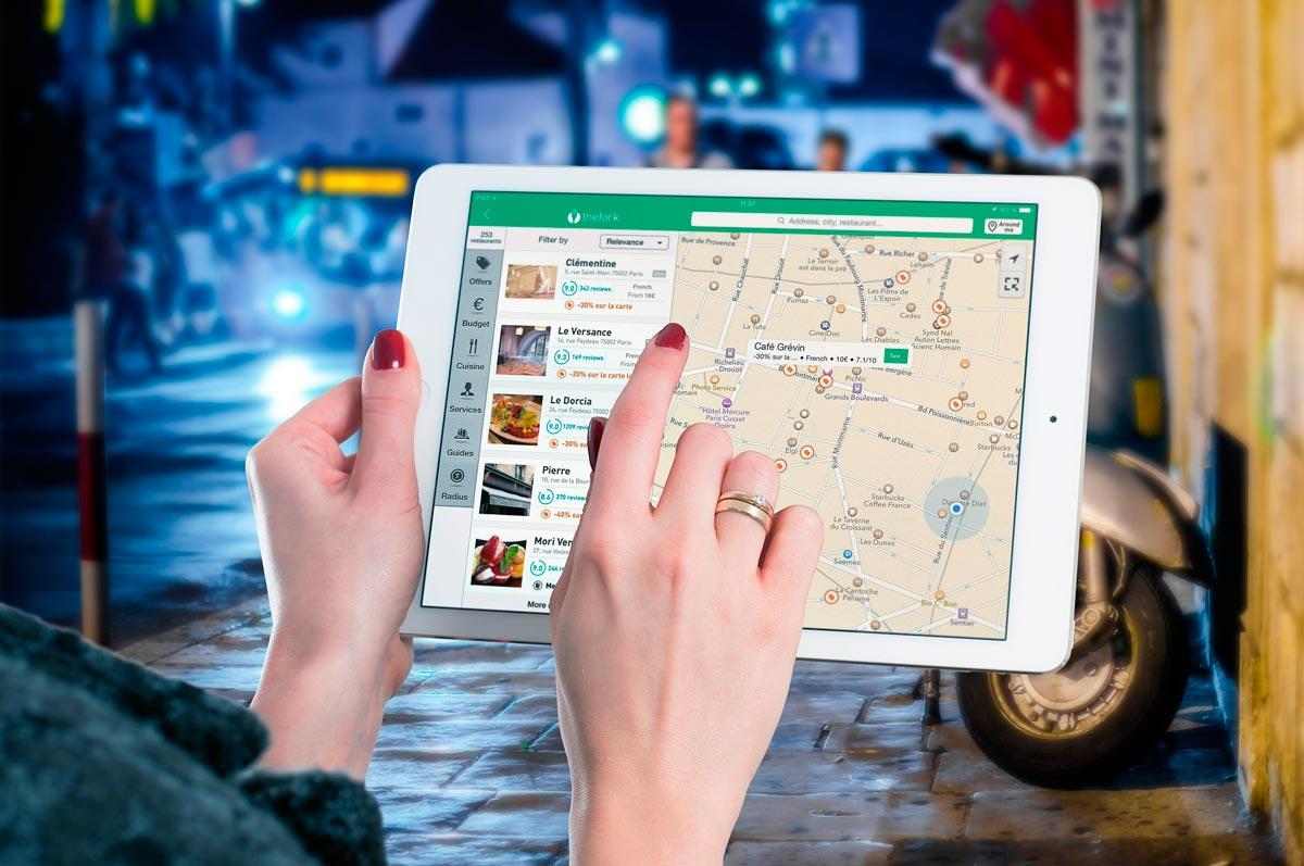 Мобильные карты для планшета