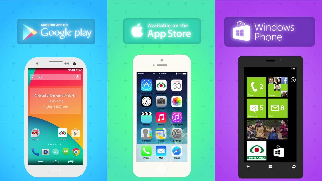 Верстка мобильных приложениq под iOS, Android и Windows