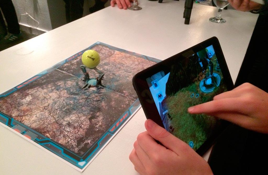 Разработка приложений для ios и android включает игры с дополненной реальностью