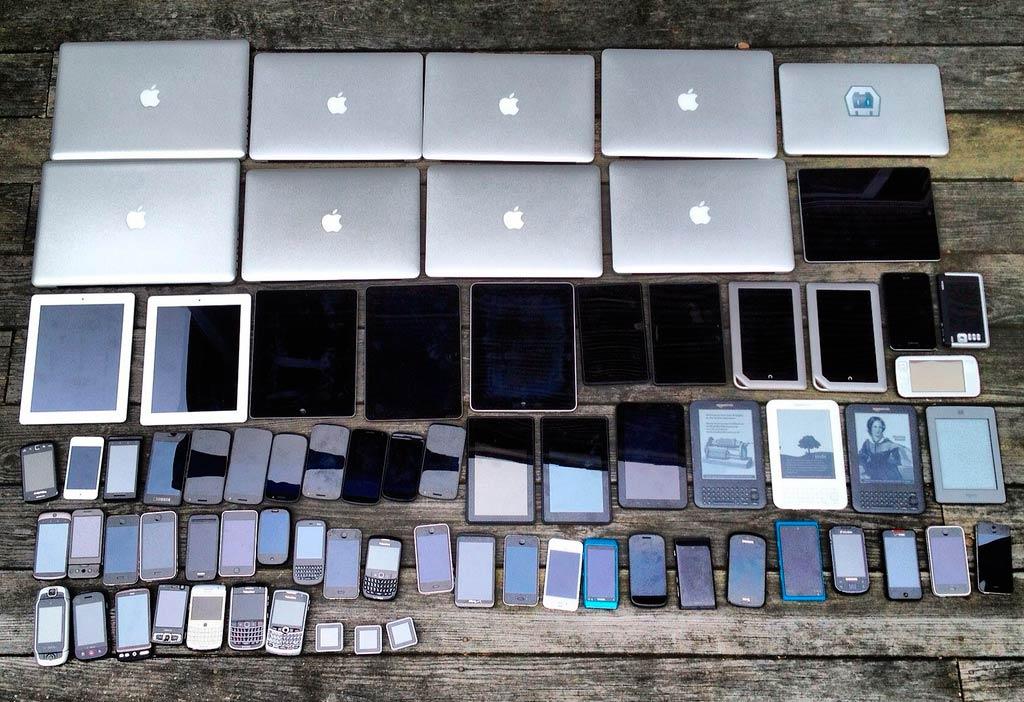 Дизайн сайта для мобильных устройств адаптируется под размер любого экрана