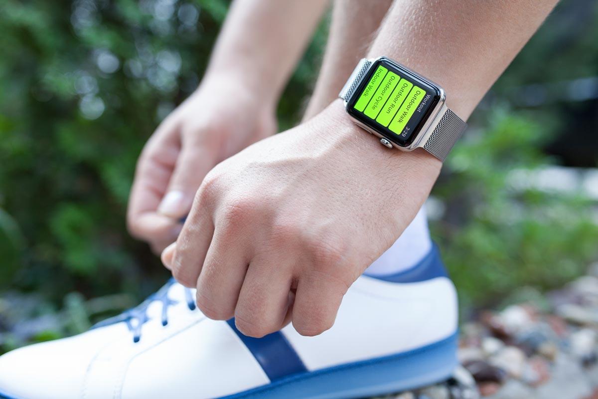 Разработка мобильных приложений ios для Apple Watch не забывает о любителях спорта