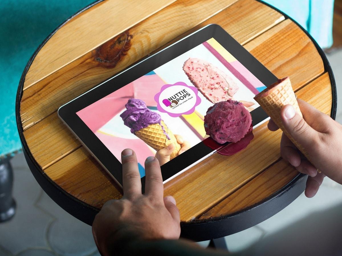 Изготовление приложений для мобильных устройств про еду