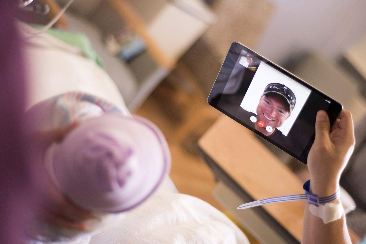 мобильная разработка под ios, FaceTime