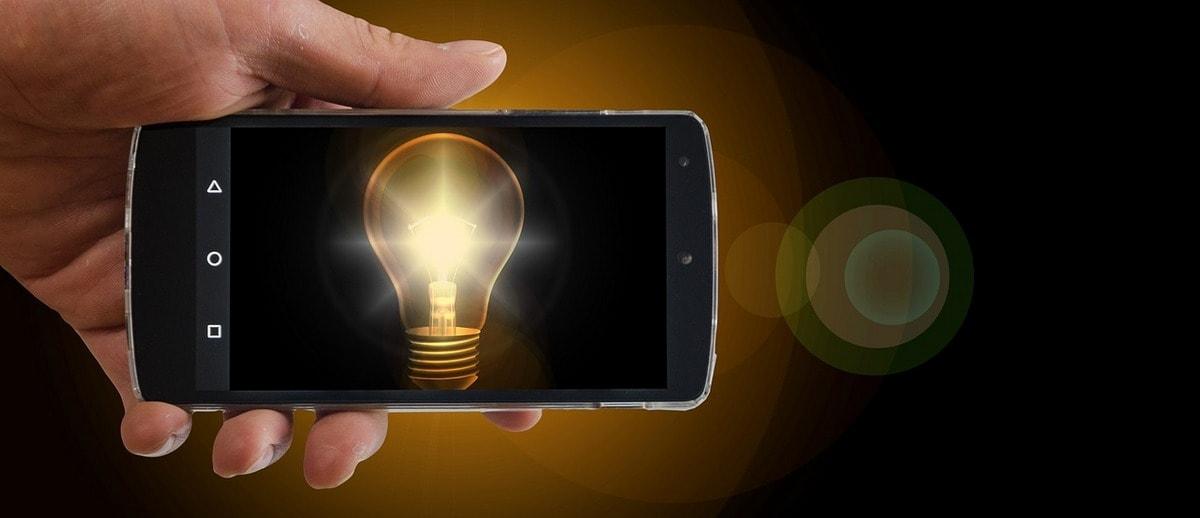 разработка мобильных приложений использует подсветку
